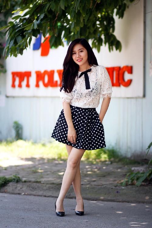 Cô nàng xinh đẹp, đa tài của FPT Polytechnic - ảnh 3
