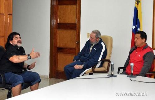 Tình bạn đẹp của Diego Maradona với các chính trị gia - ảnh 1