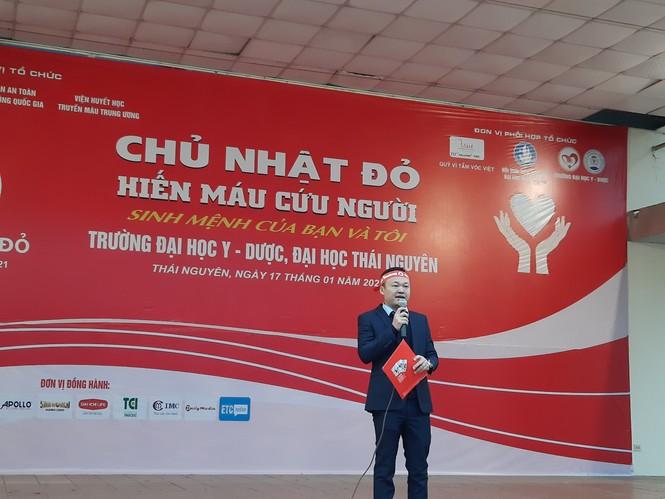 Sinh viên Đại học Y dược Thái Nguyên: Giọt máu cho đi là giọt máu còn mãi - ảnh 1