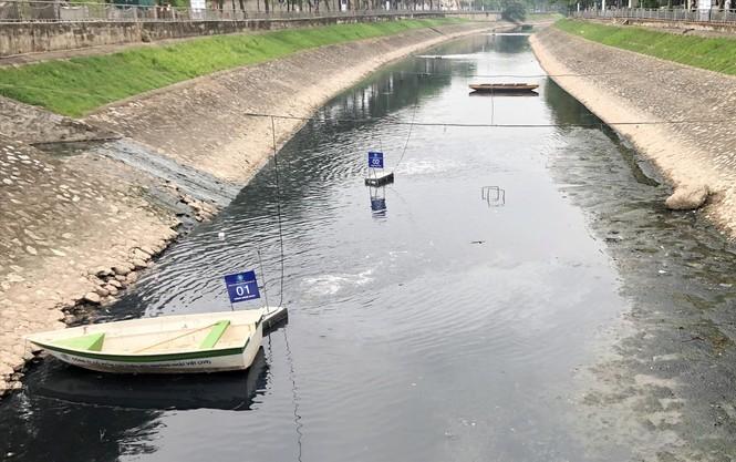 150 tỷ đồng bơm nước sông Hồng rửa Tô Lịch: Có khả thi không? - ảnh 1