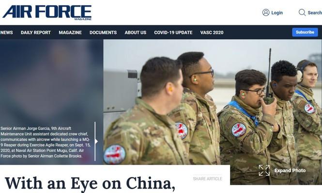 Trung - Mỹ họp bàn ngăn chặn 'khủng hoảng quân sự' - ảnh 1