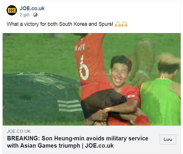Báo Anh nói gì sau màn 'trốn nghĩa vụ' của Son Heung Min? - ảnh 1