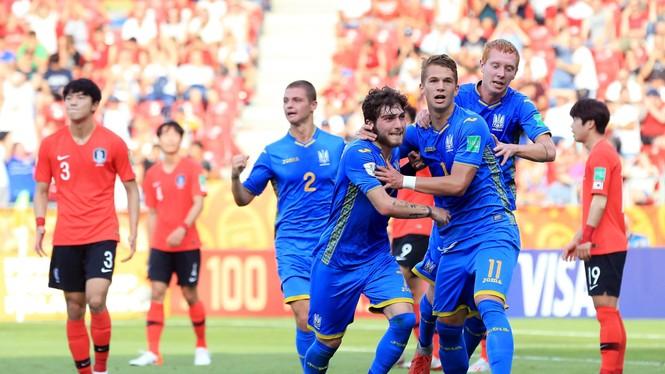 U20 Ukraine ngược dòng thắng U20 Hàn Quốc, vô địch World Cup - ảnh 1