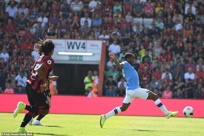 Sergio Aguero lập cú đúp, Man City đè bẹp Bournemouth - ảnh 1