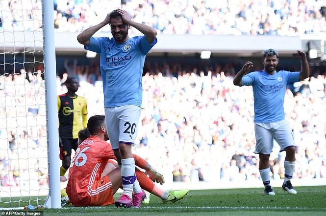 Kết quả Ngoại hạng Anh: Man City đè bẹp Watford với tỉ số không tưởng - ảnh 1
