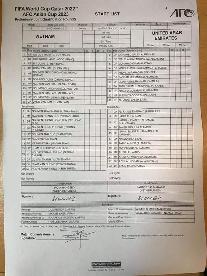 Đánh bại UAE, tuyển Việt Nam lên đầu bảng - ảnh 7