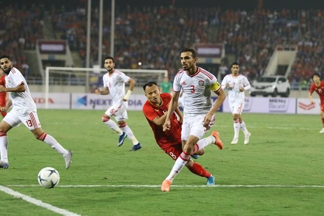 Đánh bại UAE, tuyển Việt Nam lên đầu bảng - ảnh 18