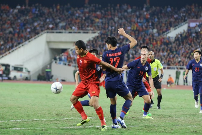 Bàn thắng không được công nhận, tuyển Việt Nam chia điểm với Thái Lan - ảnh 32