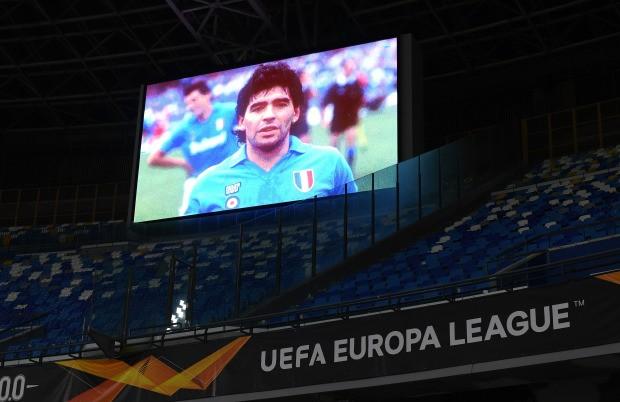 Napoli thắng đậm sau buổi lễ tri ân Maradona đầy xúc động - ảnh 3