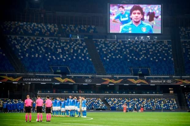 Napoli thắng đậm sau buổi lễ tri ân Maradona đầy xúc động - ảnh 5