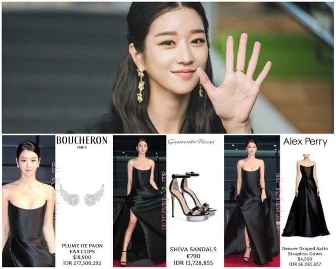 'Điên nữ' Seo Ye Ji nóng bỏng với vòng một 'bức thở', diện bộ đầm nửa tỷ lên thảm đỏ - ảnh 2