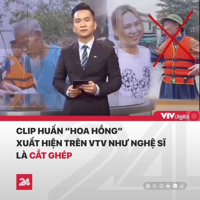 VTV lên tiếng vụ Huấn 'Hoa Hồng' xuất hiện trên 'Chuyển động 24h' nói về đi từ thiện - ảnh 3