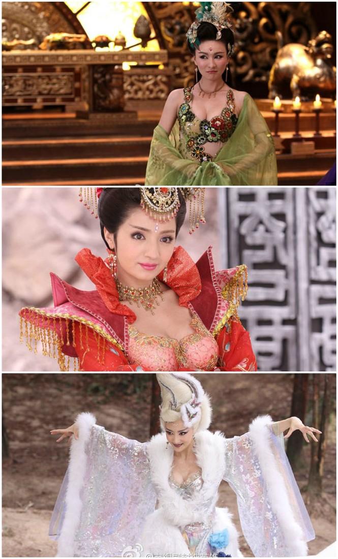 Nóng mắt với độ khêu gợi của 'nàng Đát Kỷ hở hang nhất màn ảnh Hoa ngữ' - ảnh 2