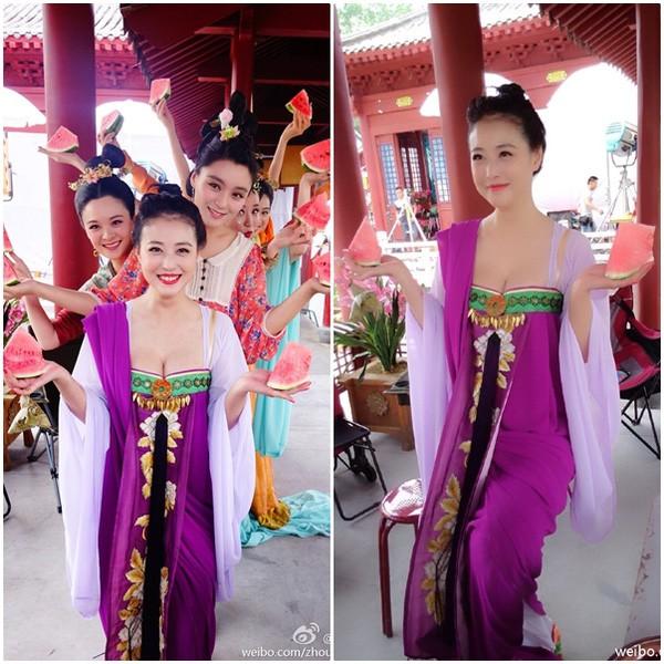 Ngắm loạt trang phục của 'Võ Mỵ Nương Truyền Kỳ' từng bị 'tuýt còi' vì hở bạo - ảnh 2