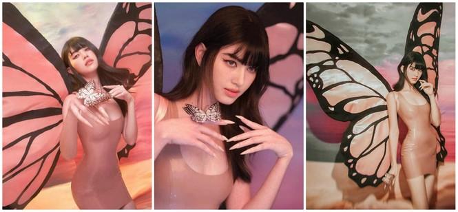 Mê mẩn ngắm 'ma nữ đẹp nhất Thái Lan' Mai Davika hóa Tiên bướm gợi cảm dịp Halloween  - ảnh 2