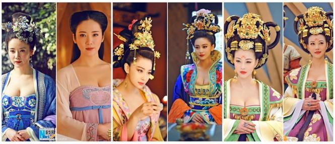 Ngắm loạt trang phục của 'Võ Mỵ Nương Truyền Kỳ' từng bị 'tuýt còi' vì hở bạo - ảnh 4
