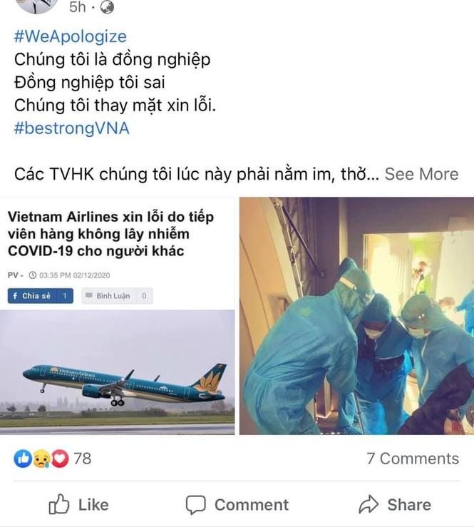 Loạt tiếp viên Vietnam Airlines treo hashtag xin lỗi cộng đồng, mong được đối xử văn minh - ảnh 4