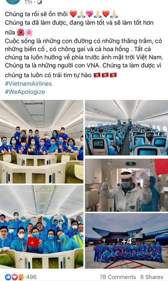 Loạt tiếp viên Vietnam Airlines treo hashtag xin lỗi cộng đồng, mong được đối xử văn minh - ảnh 5
