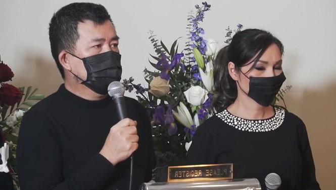 Tang lễ Vân Quang Long tại Mỹ: Người thân, đồng nghiệp thương tiếc tiễn biệt - ảnh 4