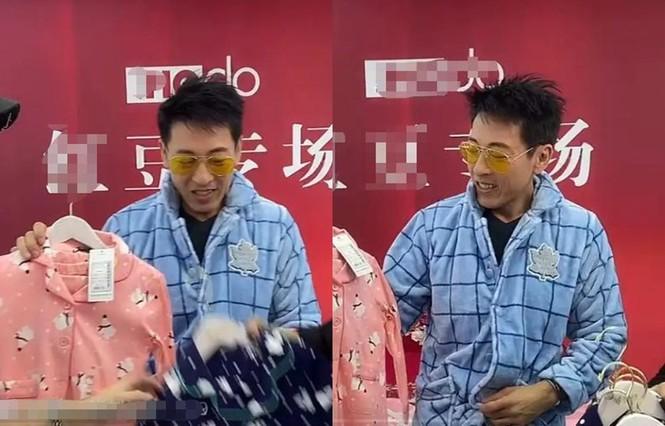 'Lệnh Hồ Xung' kinh điển tuổi 54: Không con cái, phải livestream bán quần áo - ảnh 1