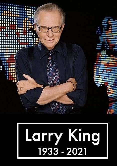 Huyền thoại truyền hình Larry King qua đời ở tuổi 87 sau mắc COVID-19 - ảnh 1
