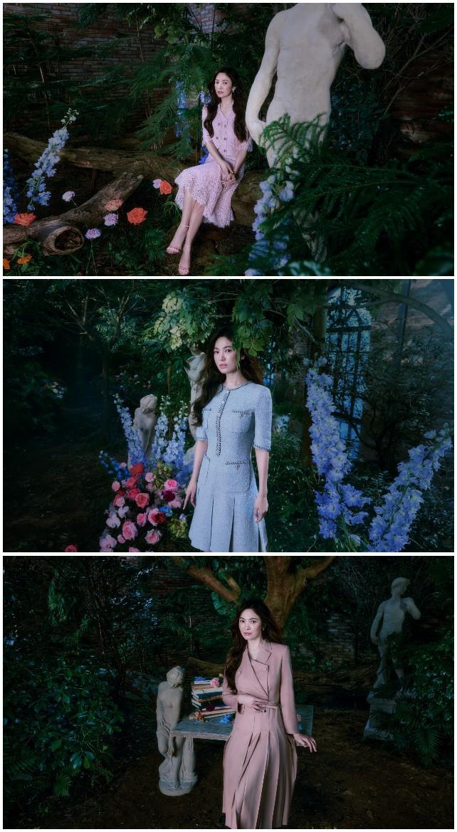 Địch Lệ Nhiệt Ba xinh như công chúa Bạch Tuyết, diện đầm đỏ rực đón xuân - ảnh 3