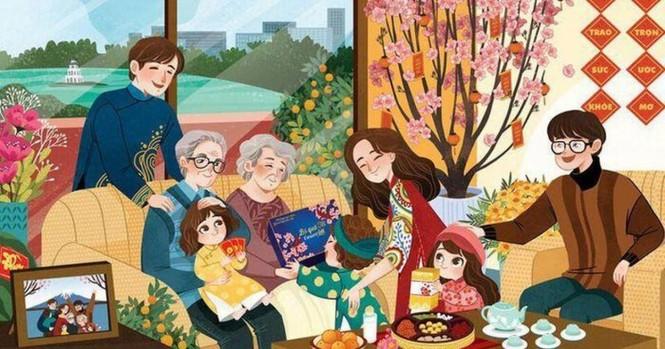 Những câu chúc Tết gia đình, người yêu hay và ý nghĩa nhất vào thời khắc giao thừa - ảnh 1
