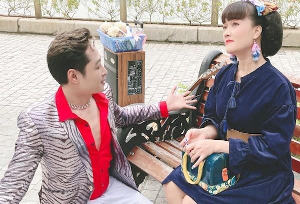 Vân Dung chia sẻ hình ảnh hóm hỉnh hậu trường phim 'Hướng Dương Ngược Nắng' - ảnh 2