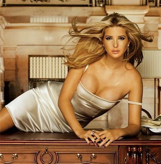 Con gái Donald Trump, bồ cũ Ronaldo lọt top gợi tình nhất thế giới  - ảnh 1