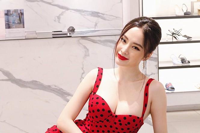 Angela Phương Trinh khoe ngực đầy quyến rũ với váy 2 dây xẻ sâu - ảnh 4