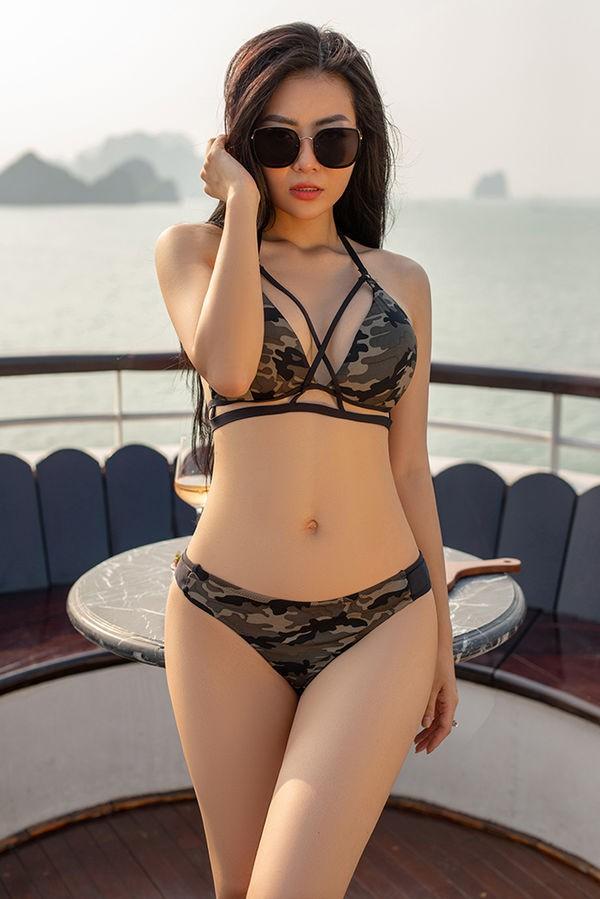 'Bỏng mắt' với ảnh bikini của 3 mỹ nhân phim truyền hình khung giờ vàng - ảnh 4