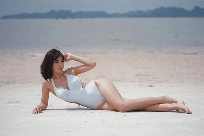 'Bỏng mắt' với ảnh bikini của 3 mỹ nhân phim truyền hình khung giờ vàng - ảnh 5