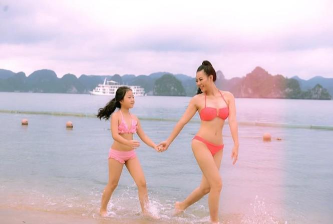 'Bỏng mắt' với ảnh bikini của 3 mỹ nhân phim truyền hình khung giờ vàng - ảnh 2