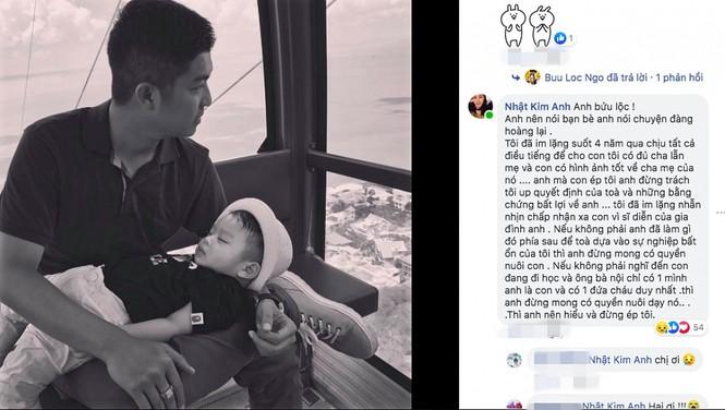 Bị bạn chồng cũ nói bỏ bê con trai, Nhật Kim Anh đáp trả 'sốc' - ảnh 2