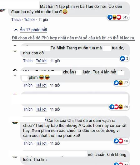 Khán giả 'Về nhà đi con' muốn tua nhanh phim vì bức xúc với Huệ  - ảnh 3