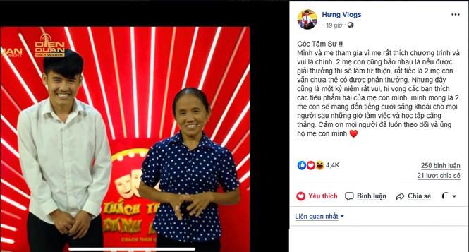 Thực hư bà Tân Vlog giành 100 triệu từ 'Thách thức danh hài' mùa 6 - ảnh 3