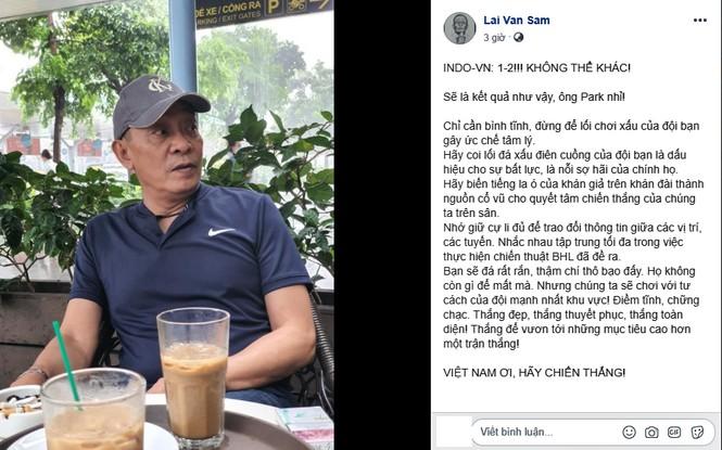Nhiều sao Việt được phong 'thánh dự đoán tỉ số' khi Việt Nam thắng Indonesia - ảnh 8