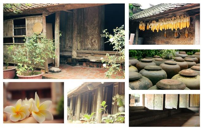 Chiêm ngưỡng vẻ đẹp di sản vẹn nguyên ở làng cổ Đường Lâm  - ảnh 1