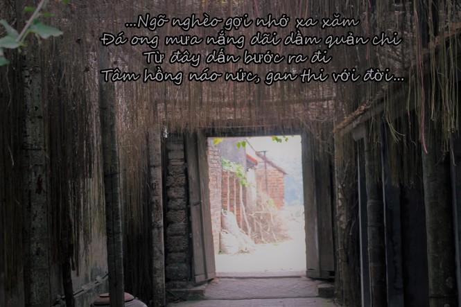 Chiêm ngưỡng vẻ đẹp di sản vẹn nguyên ở làng cổ Đường Lâm  - ảnh 5