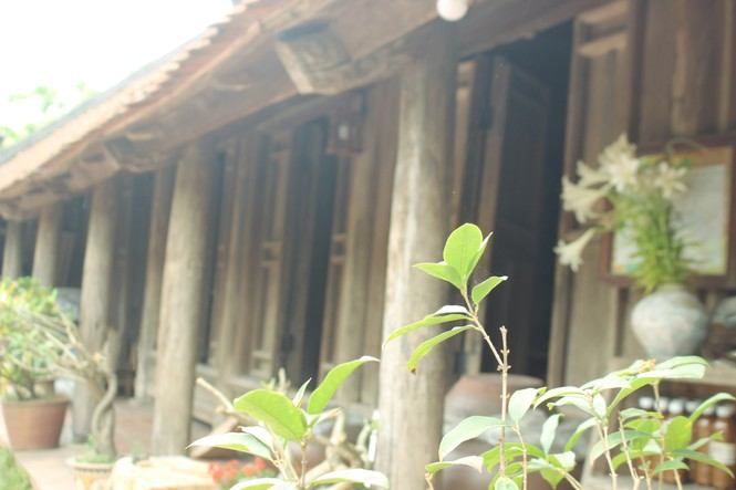 Chiêm ngưỡng vẻ đẹp di sản vẹn nguyên ở làng cổ Đường Lâm  - ảnh 3