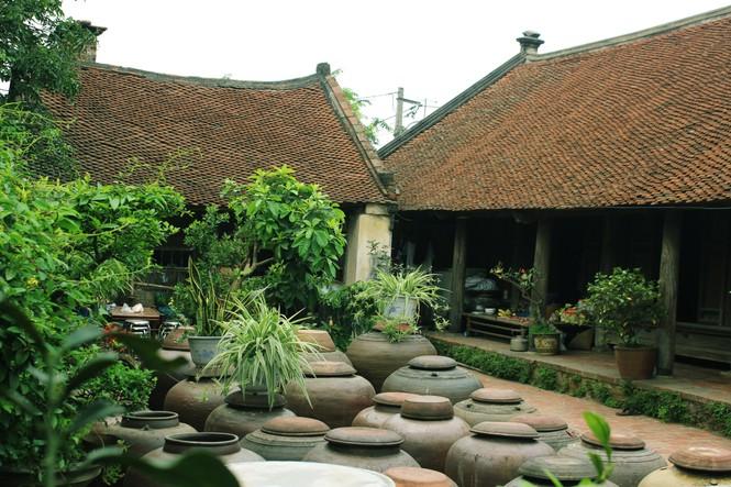 Chiêm ngưỡng vẻ đẹp di sản vẹn nguyên ở làng cổ Đường Lâm  - ảnh 13
