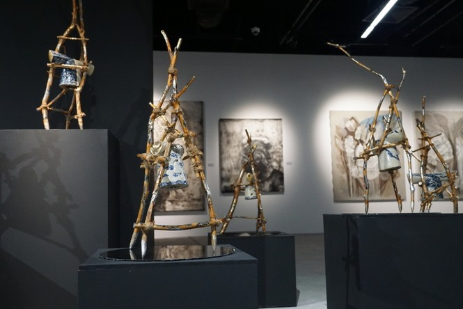Ngắm những tác phẩm điêu khắc độc đáo của các nghệ sĩ tiêu biểu châu Á  - ảnh 9