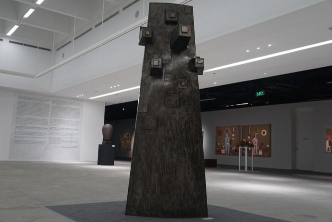 Ngắm những tác phẩm điêu khắc độc đáo của các nghệ sĩ tiêu biểu châu Á  - ảnh 14