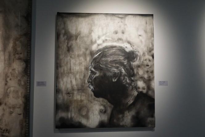Chiêm ngưỡng tranh của các nghệ sĩ tiêu biểu Châu Á quy tụ tại Hà Nội - ảnh 9