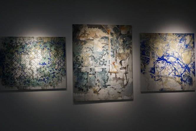Chiêm ngưỡng tranh của các nghệ sĩ tiêu biểu Châu Á quy tụ tại Hà Nội - ảnh 11