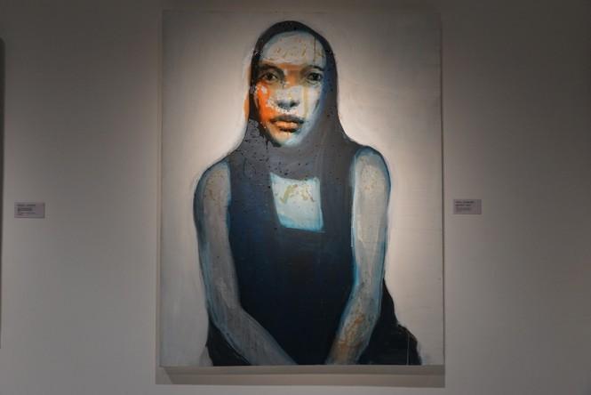 Chiêm ngưỡng tranh của các nghệ sĩ tiêu biểu Châu Á quy tụ tại Hà Nội - ảnh 12