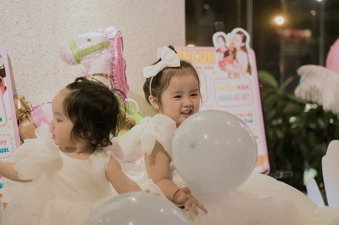 Dân mạng phát 'sốt' với gương mặt hai con gái của Hoài Lâm - ảnh 6