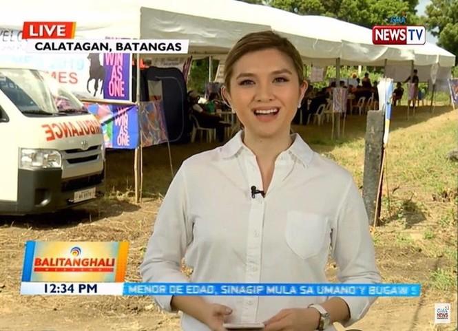 Nữ phóng viên Philippines phát ngôn sốc về SEA Games 30 là ai? - ảnh 1