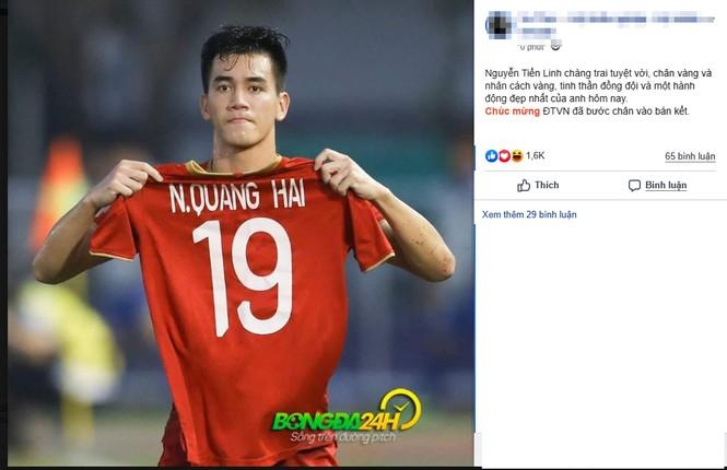 Dân mạng 'bùng nổ' khi U22 Việt Nam loại U22 Thái, vào bán kết SEA Games 30 - ảnh 4