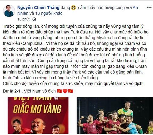 BTV Quang Minh dự đoán bất ngờ về Quang Hải ở trận U22 Việt Nam - U22 Indonesia - ảnh 3
